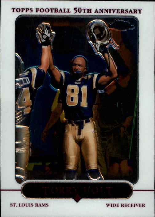 2005 Topps Chrome #75 Torry Holt