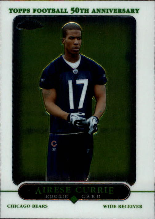 2005 Topps Chrome #230 Airese Currie RC