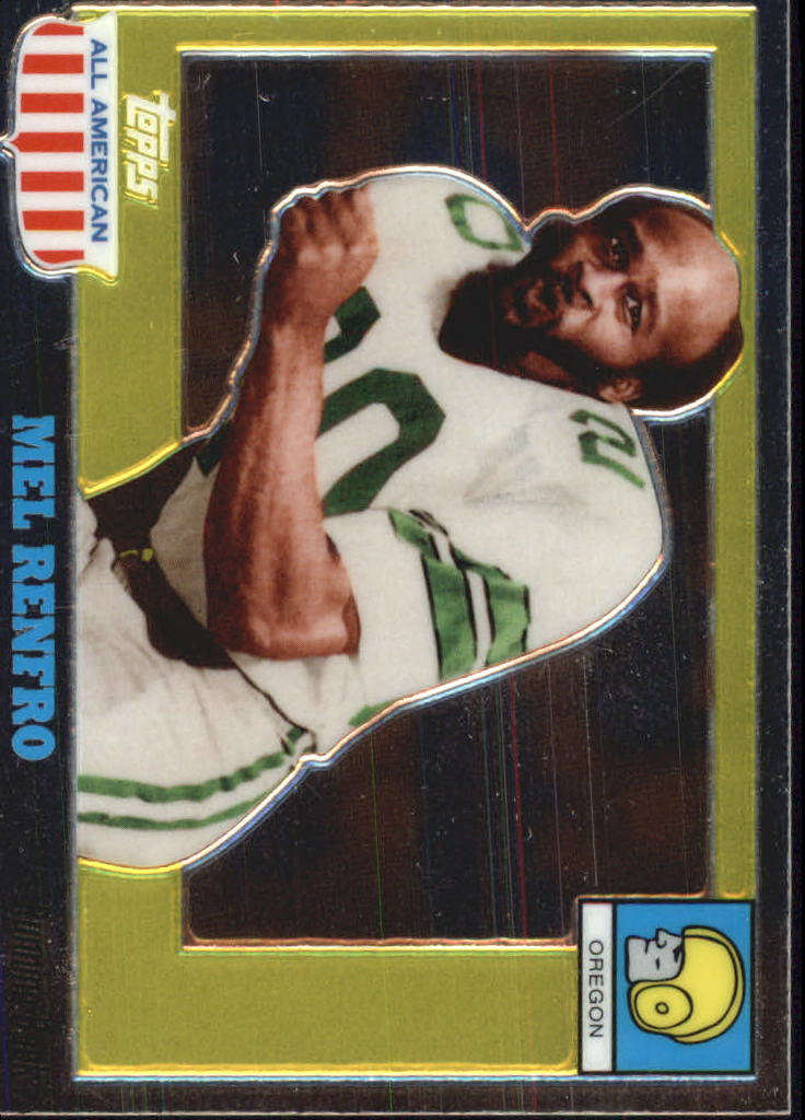 2005 Topps All American Chrome #27 Mel Renfro