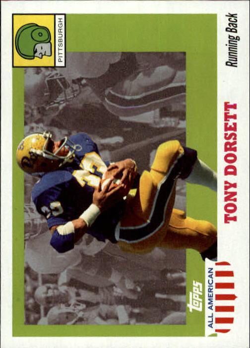 2005 Topps All American #46 Tony Dorsett