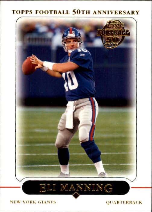 2005 Topps #9 Eli Manning