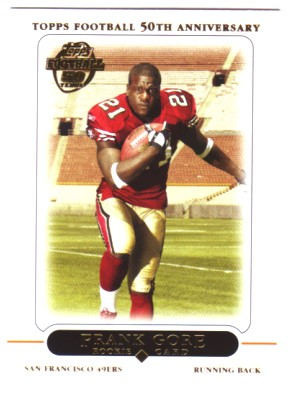 2005 Topps #418 Frank Gore RC