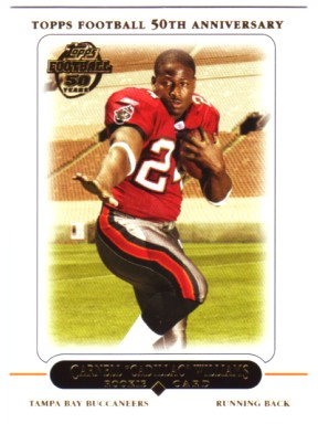 2005 Topps #438 Cadillac Williams RC
