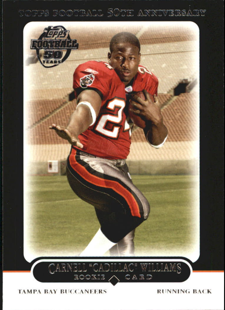 2005 Topps Black #438 Cadillac Williams