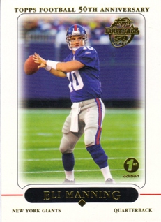2005 Topps First Edition #9 Eli Manning