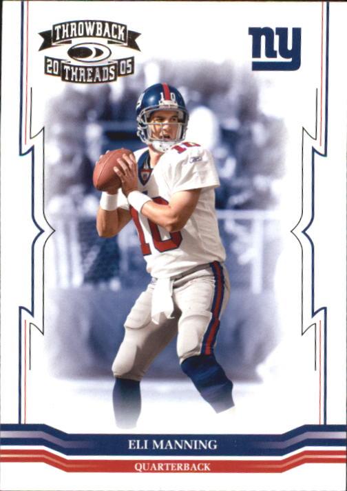 2005 Throwback Threads #94 Eli Manning