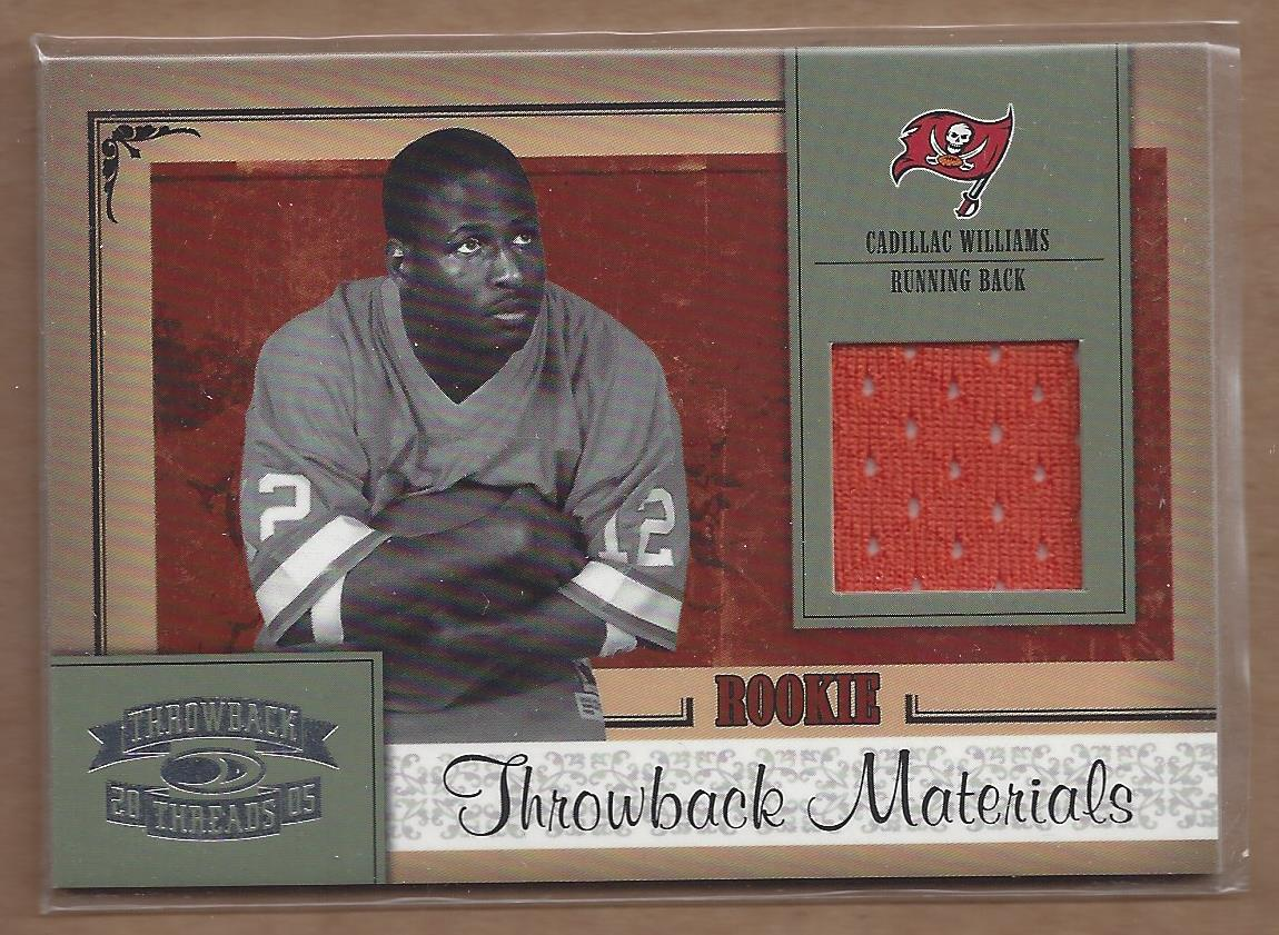 2005 Throwback Threads #206 Cadillac WIlliams JSY RC