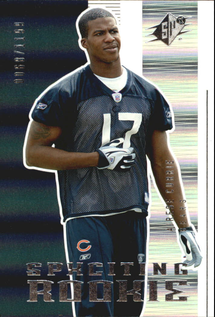 2005 SPx #156 Airese Currie RC