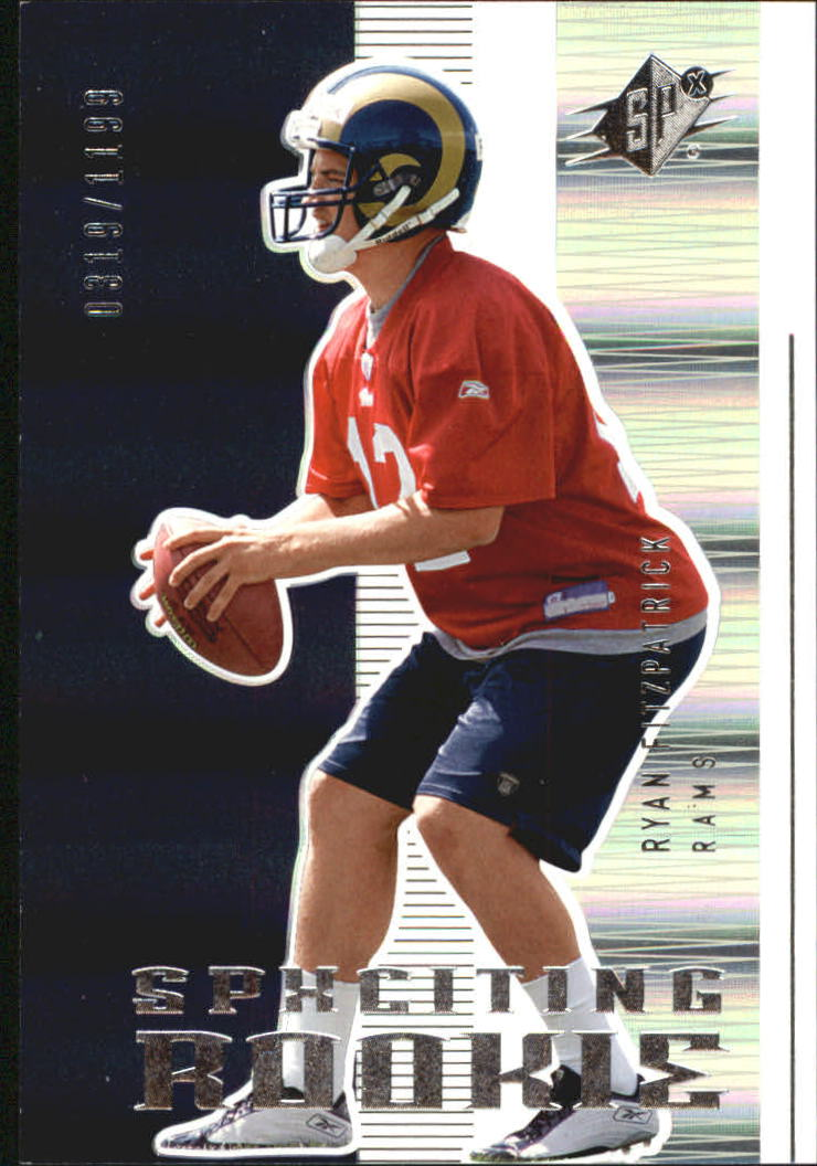 2005 SPx #162 Ryan Fitzpatrick RC