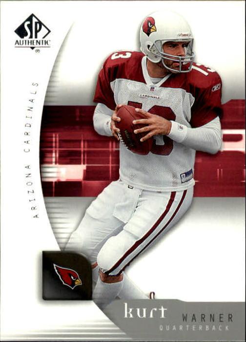 2005 SP Authentic #1 Kurt Warner