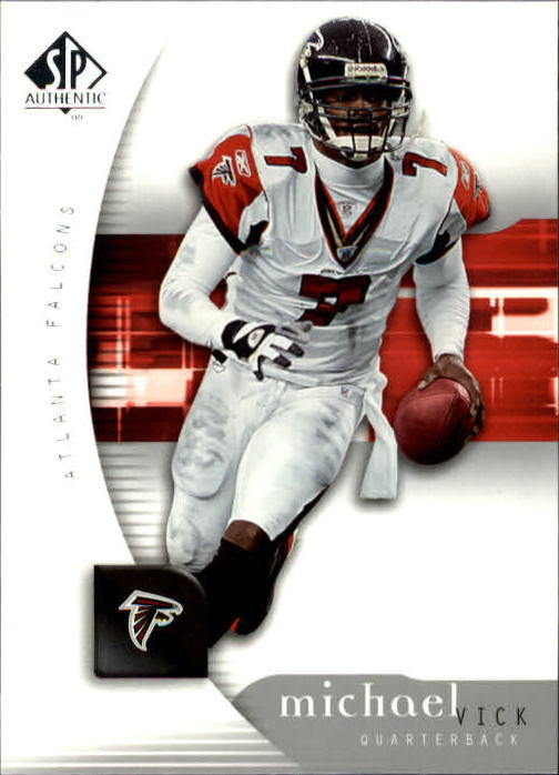 2005 SP Authentic #4 Michael Vick