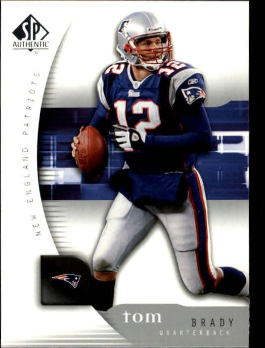2005 SP Authentic #50 Tom Brady