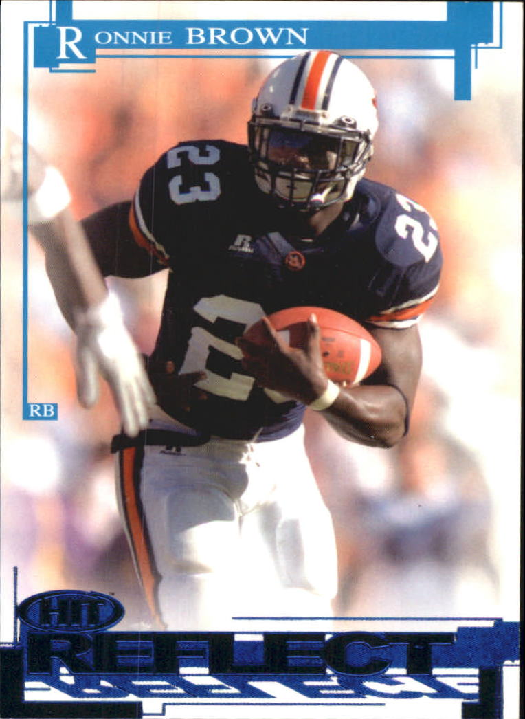 2005 SAGE HIT Reflect Blue #R23 Ronnie Brown