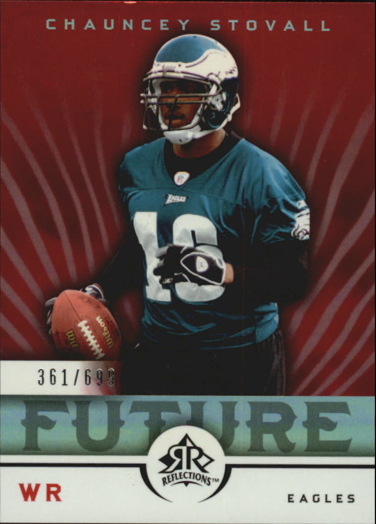 2005 Reflections #193 Chauncey Stovall RC