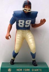 1959-63 Hartland Statues Football #15 Giants Lineman