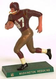 1959-63 Hartland Statues Football #24 Redskins Running Back