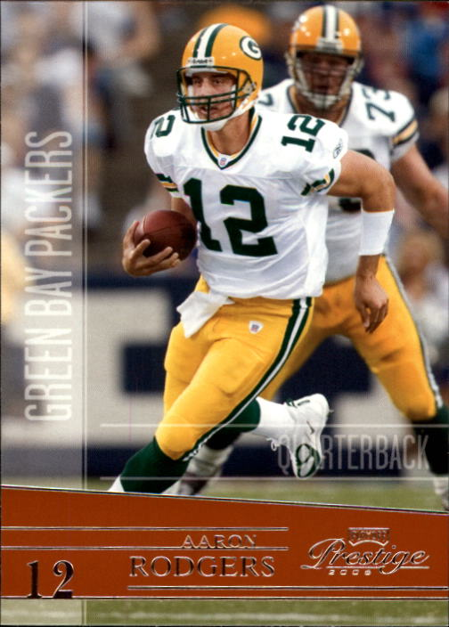 2006 Playoff Prestige #55 Aaron Rodgers