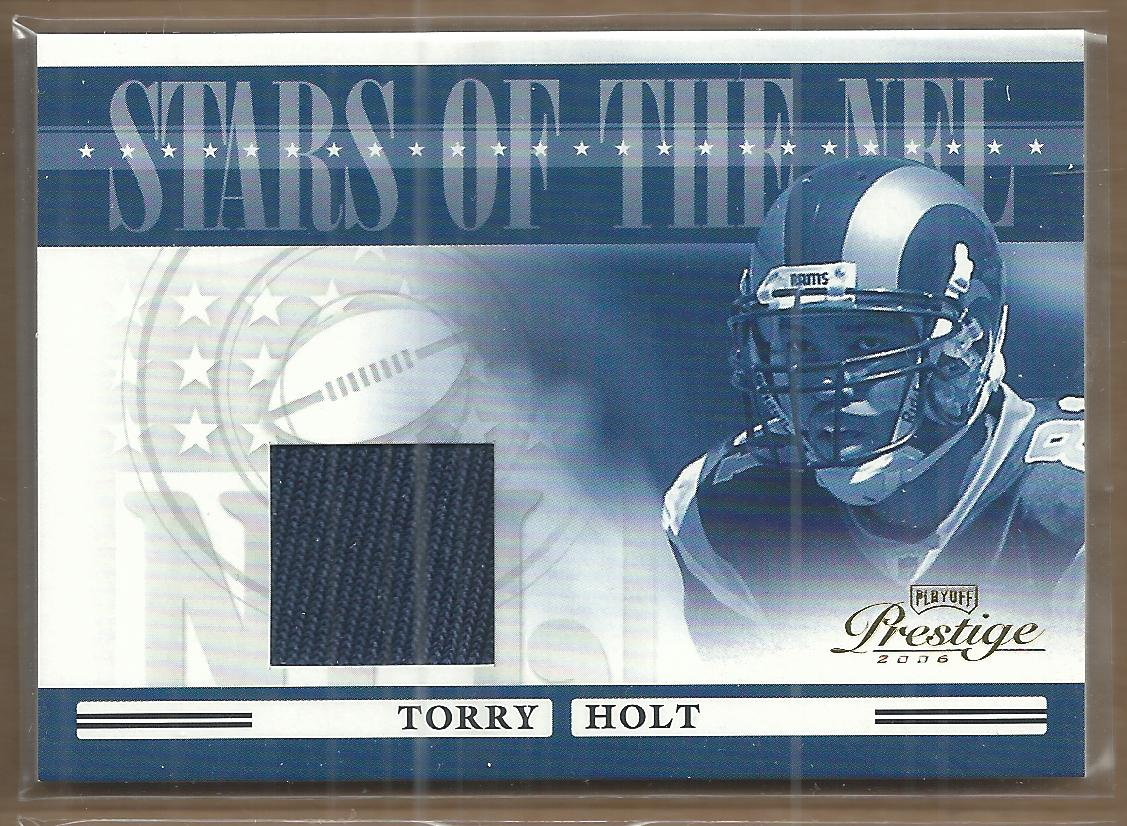 2006 Playoff Prestige Stars of the NFL Jerseys #28 Torry Holt