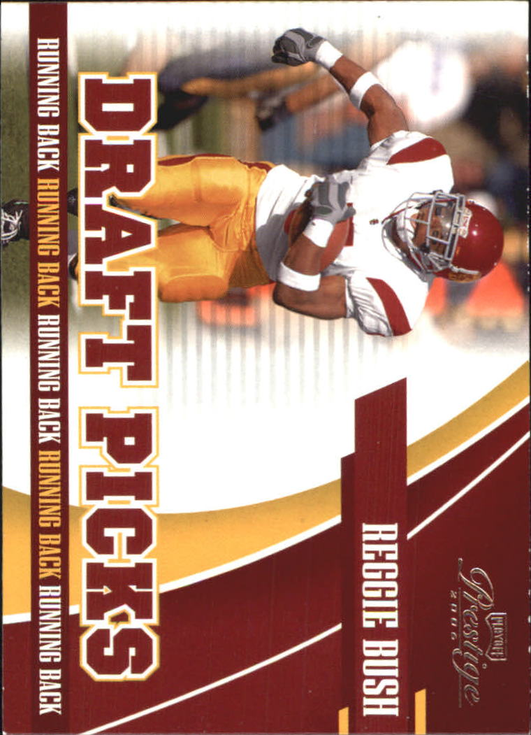 2006 Playoff Prestige Draft Picks #1 Reggie Bush