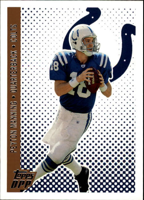 2006 Topps Draft Picks and Prospects #13 Peyton Manning