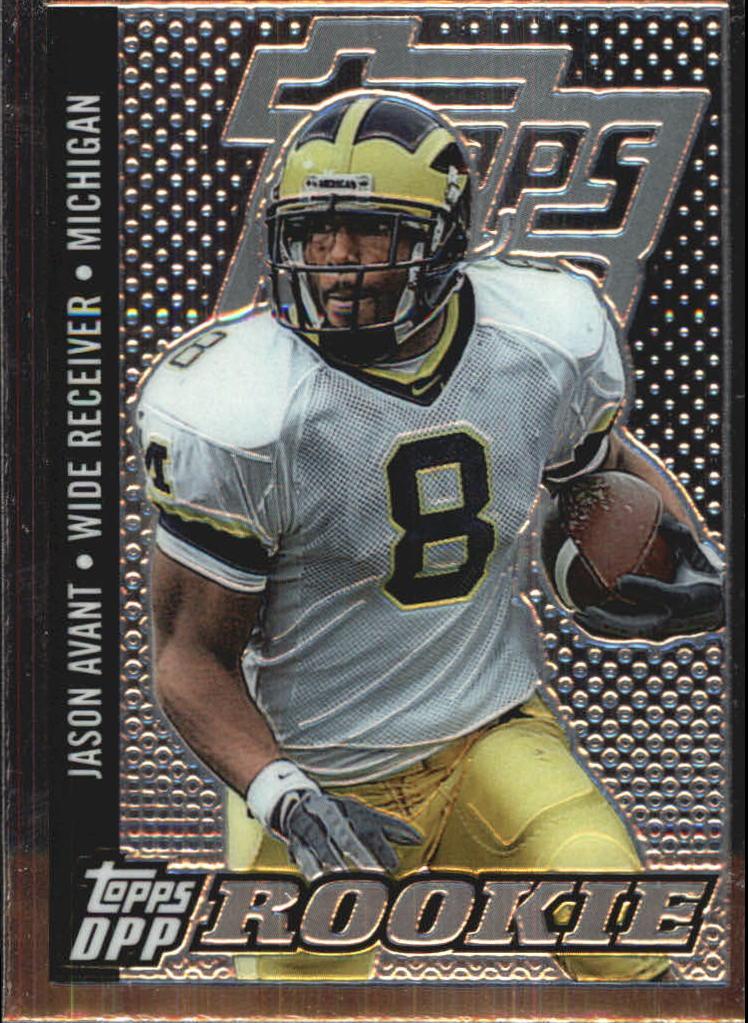 2006 Topps Draft Picks and Prospects Chrome Black #114 Jason Avant
