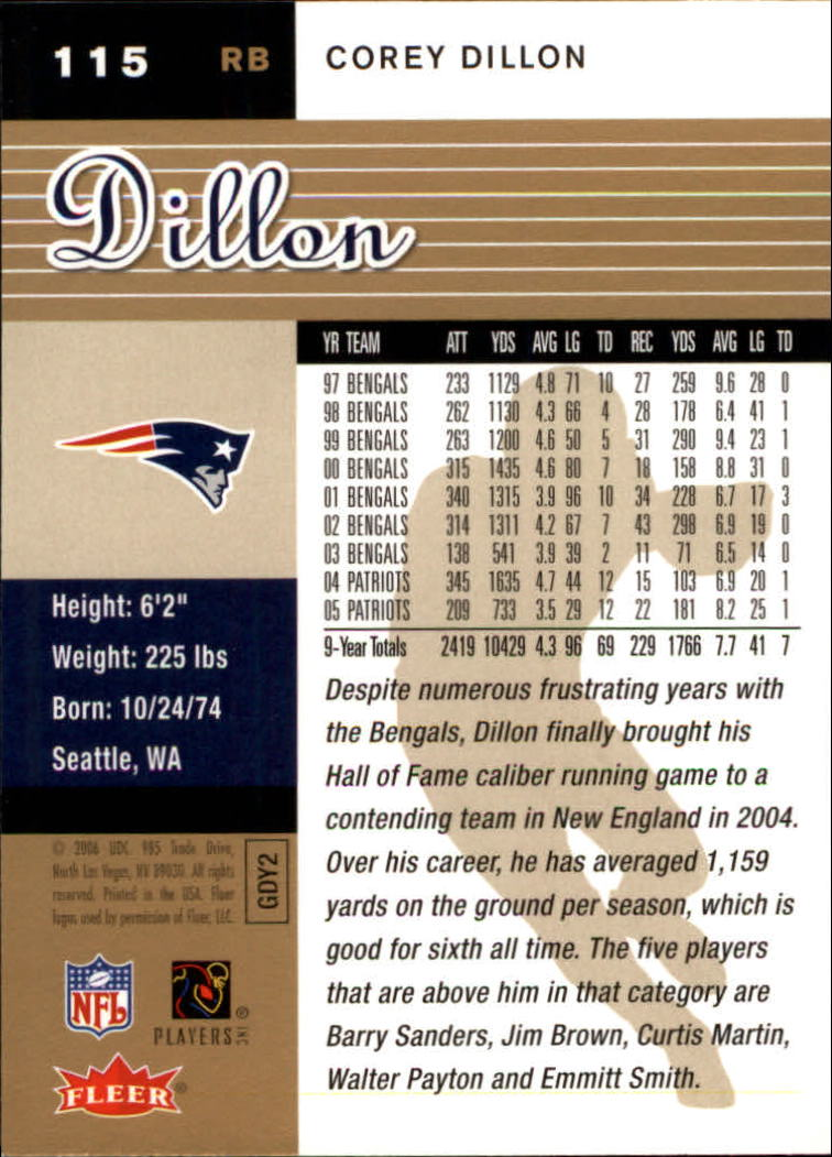 2006-Ultra-Football-Gold-Medallion-Parallel-Singles-Pick-Your-Cards