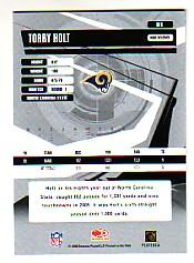 2006 Donruss Elite #91 Torry Holt back image