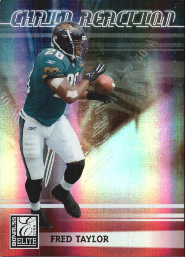 2006 Donruss Elite Chain Reaction Red #23 Fred Taylor
