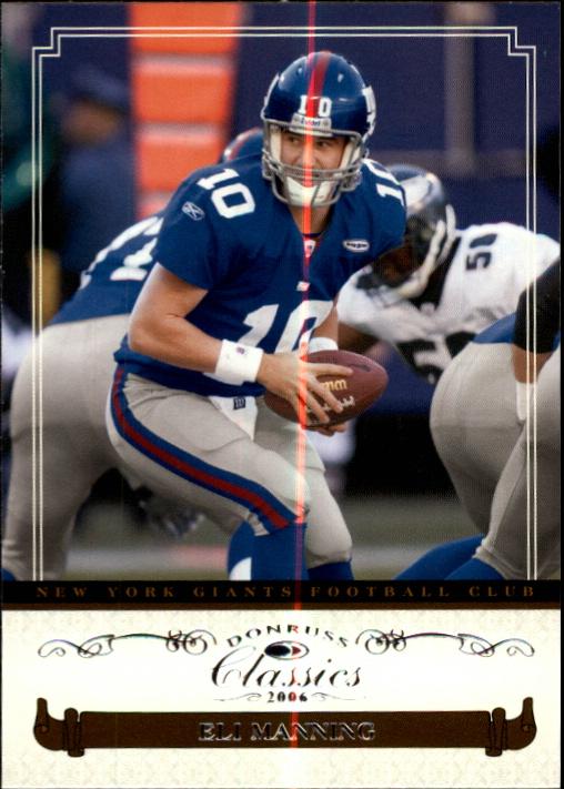 2006 Donruss Classics #66 Eli Manning