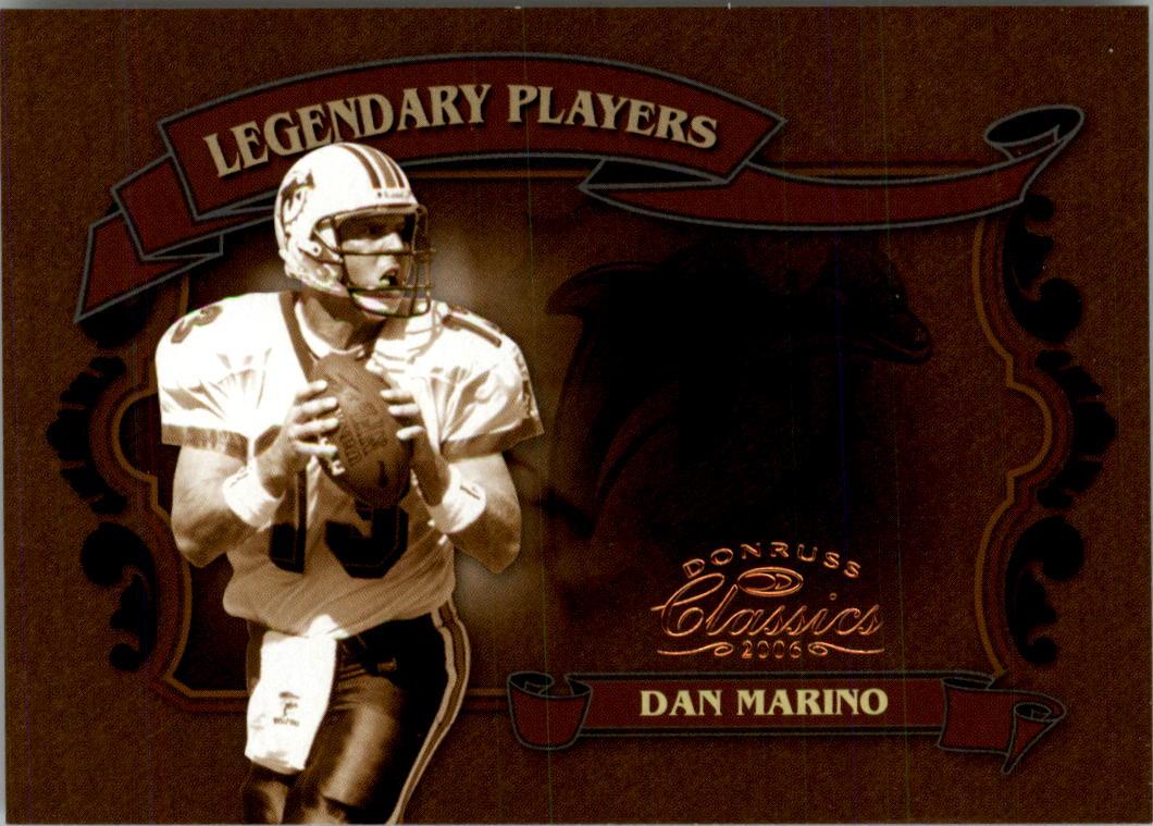 2006 Donruss Classics Legendary Players Bronze #4 Dan Marino