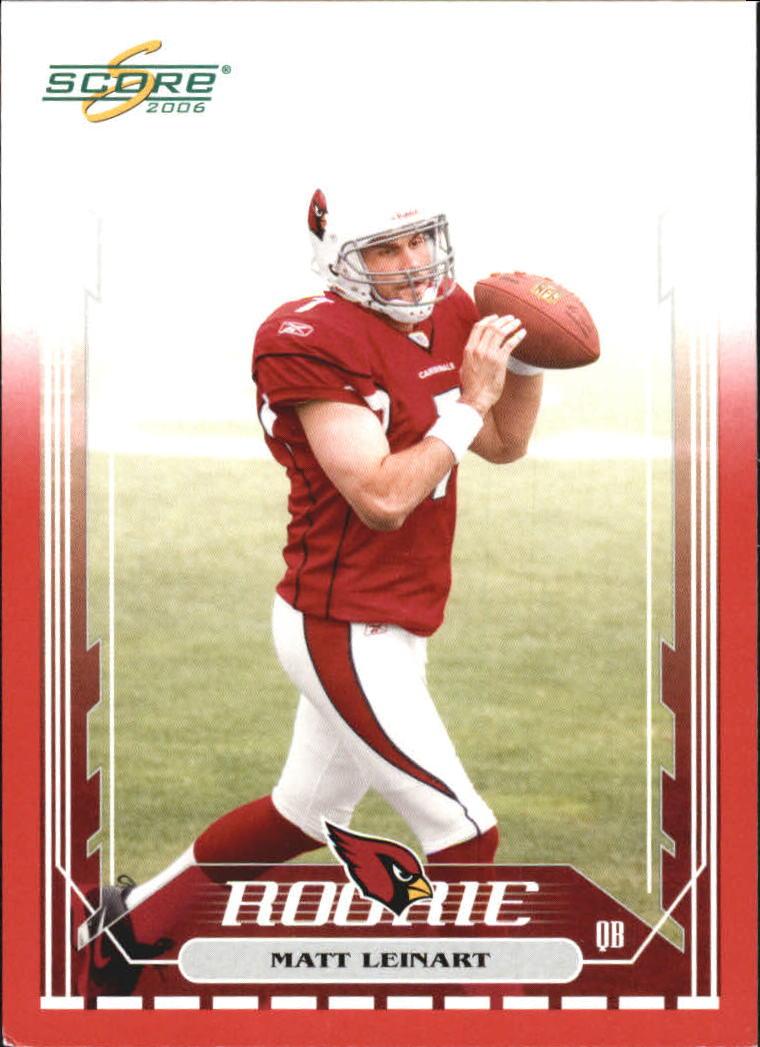 2006 Score Red #331 Matt Leinart