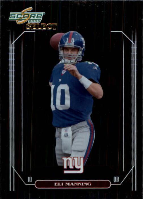 2006 Select #178 Eli Manning