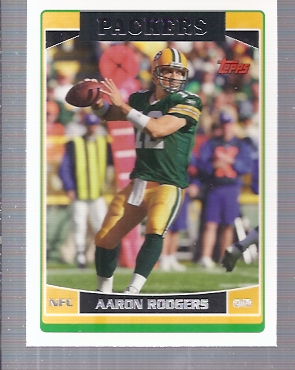 2006 Topps 84 Aaron Rodgers Nm Mt