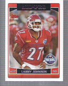 2006 Topps #292 Larry Johnson AP