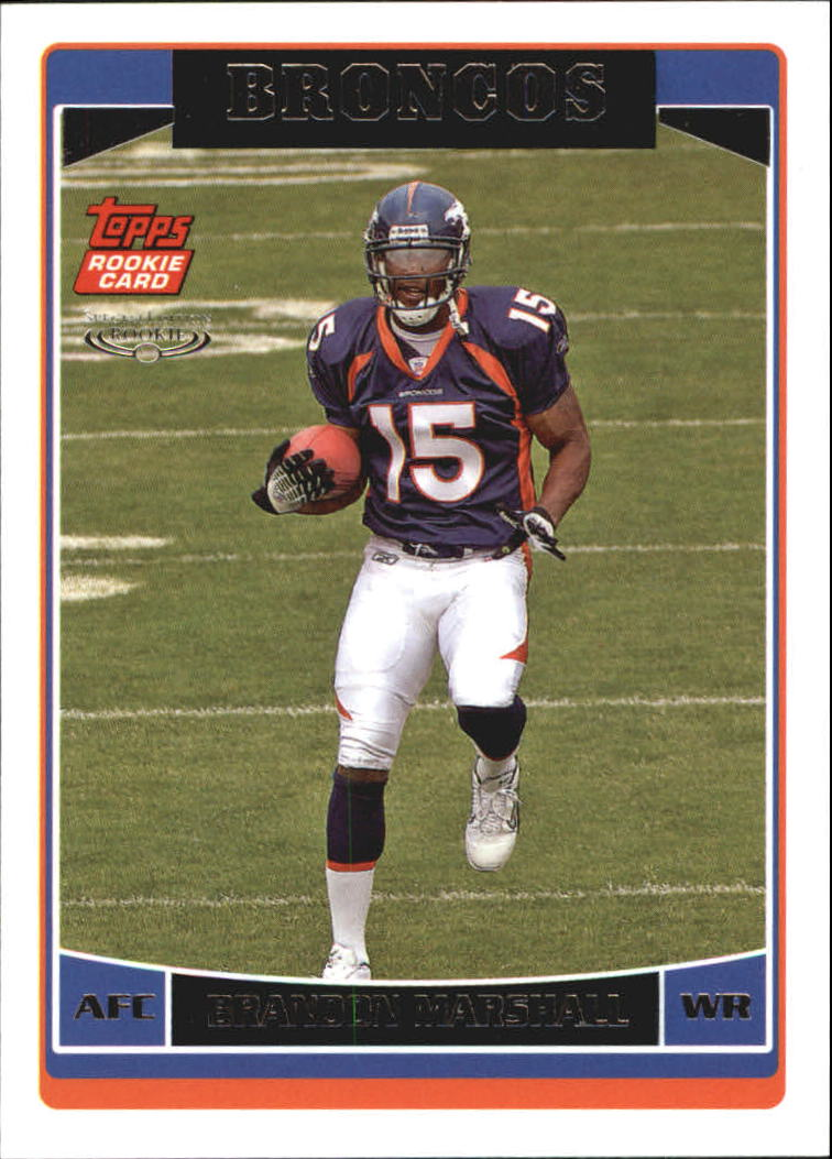 2006 Topps Special Edition Rookies #385 Brandon Marshall