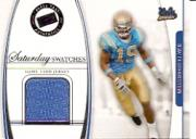 2006 Press Pass Legends Saturday Swatches #ML Marcedes Lewis