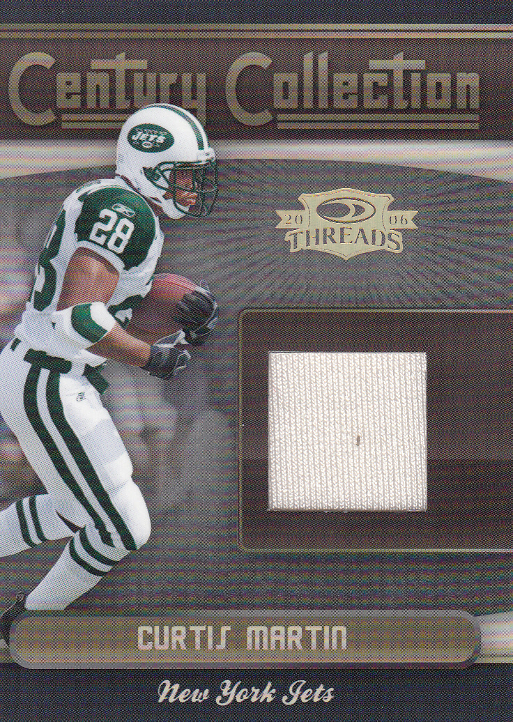 2006 Donruss Threads Century Collection Materials #20 Curtis Martin