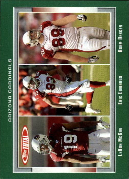 2006 Topps Total #389 Adam Bergen/Eric Edwards/Leron McCoy
