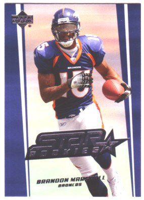 2006 Upper Deck #246 Brandon Marshall RC