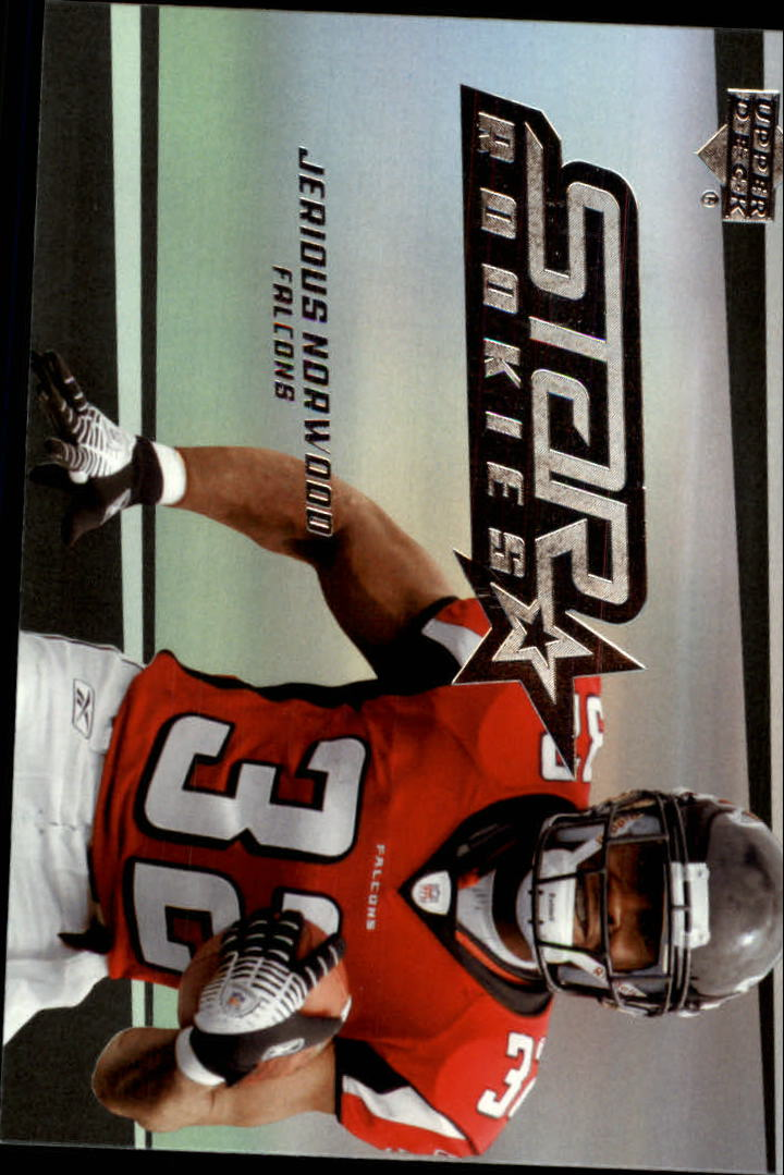 2006 Upper Deck #267 Jerious Norwood RC