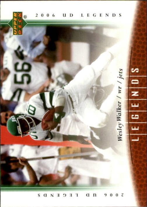 2006 Upper Deck Legends #33 Wesley Walker