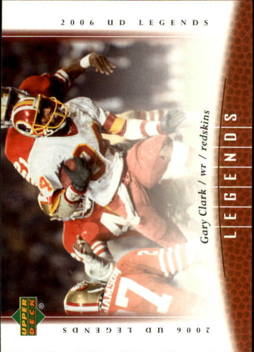 2006 Upper Deck Legends #48 Gary Clark