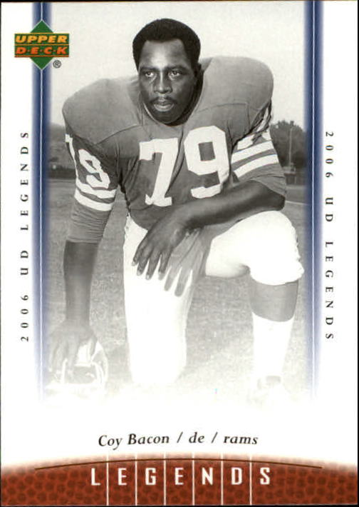 2006 Upper Deck Legends #55 Coy Bacon