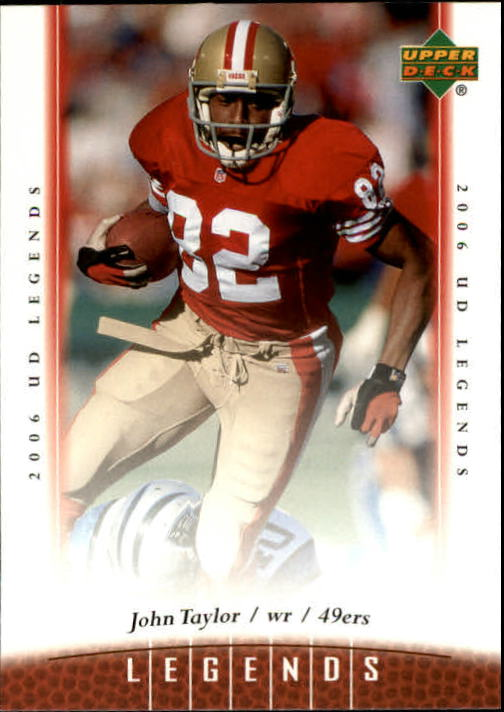 2006 Upper Deck Legends #61 John Taylor