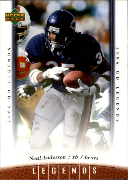 2006 Upper Deck Legends #74 Neal Anderson