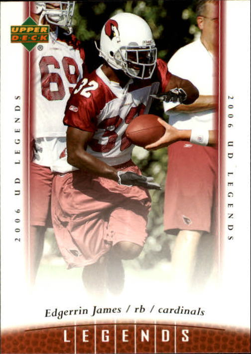 2006 Upper Deck Legends #76 Edgerrin James