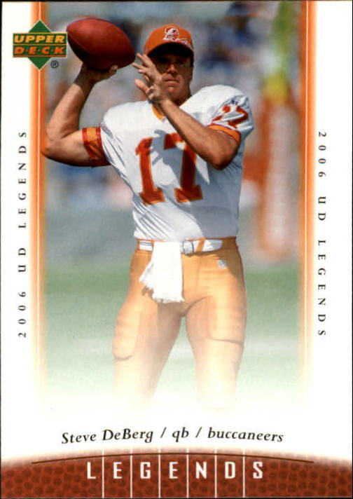 2006 Upper Deck Legends #78 Steve DeBerg
