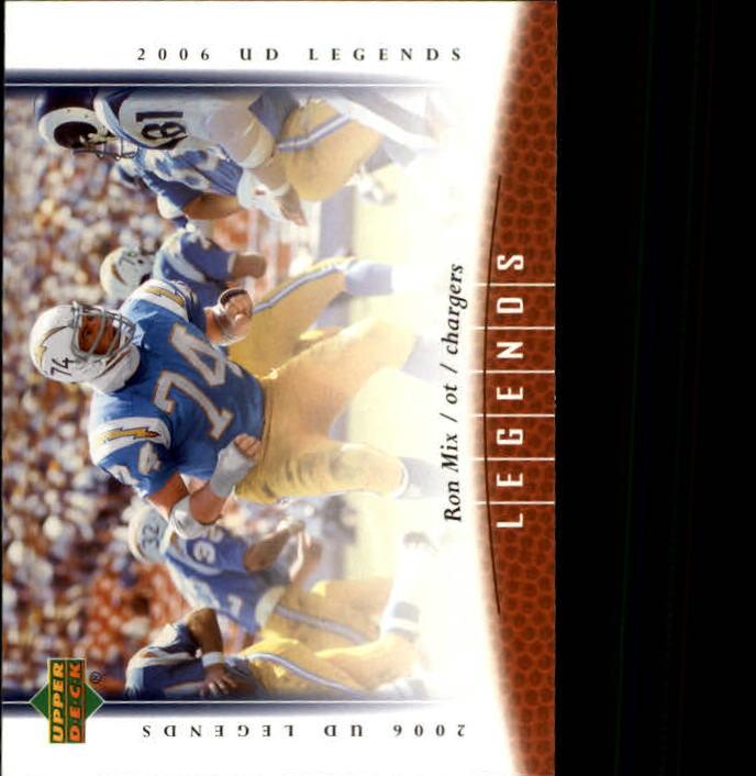 2006 Upper Deck Legends #82 Ron Mix