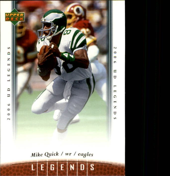 2006 Upper Deck Legends #86 Mike Quick