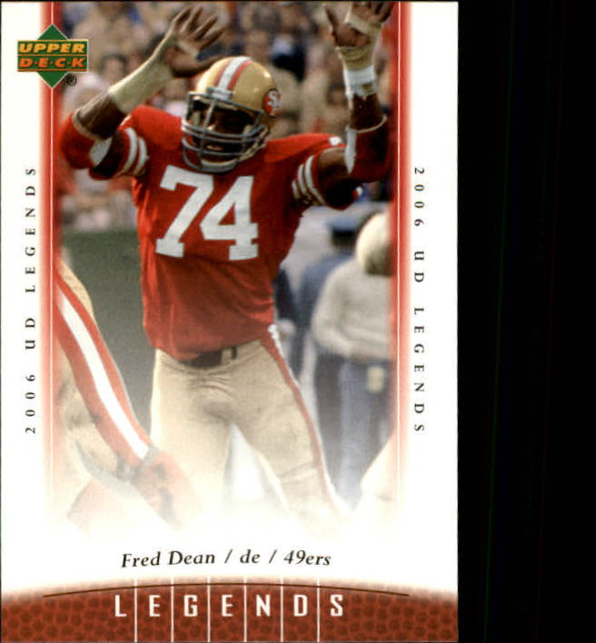 2006 Upper Deck Legends #94 Fred Dean